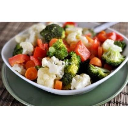 Pre-cut Veggie for Local Dish: Stir Fried Mix Veggie