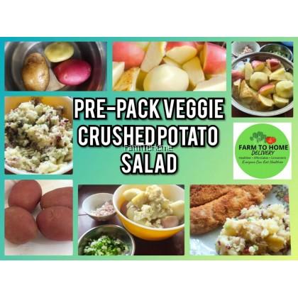 Pre-pack Veggie: Crushed Potato Salad