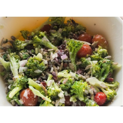 Pre-pack Veggie: Raw Broccoli Slaw/Broccoli Salad