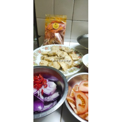 Pre-pack veggie for Assam Fish