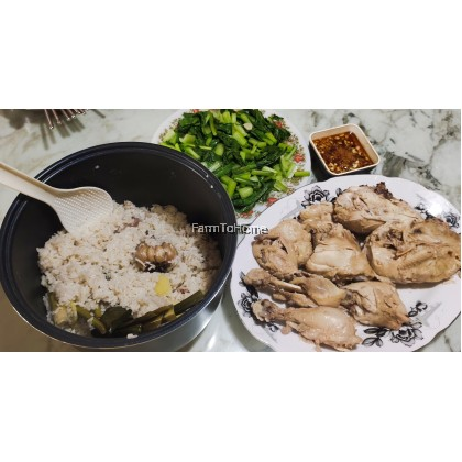 Hainanese Chicken Rice & Soup Pre-pack Ingredients