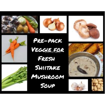 Fresh Shiitake Mushroom Soup Pack