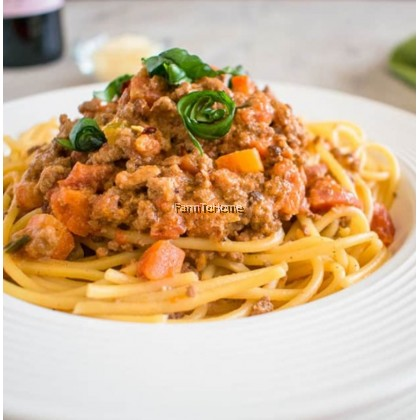 FTH House Made Bolognese Sauce 400g with Cherry Tomatoes