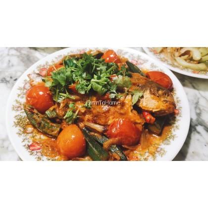Assam Fish - Pre-pack Veggie and Paste